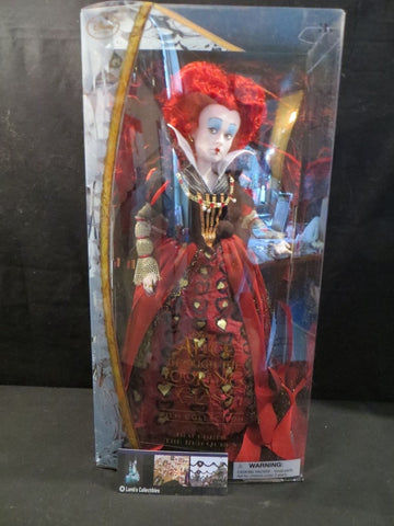 Disney Store Authentic Iracebeth Red Queen Through the Looking Glass doll
