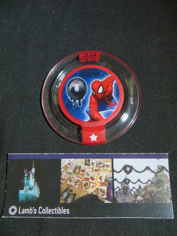 Disney Infinity 2.0 Marvel Super Heroes power disc Spiderman Alien Symbiote