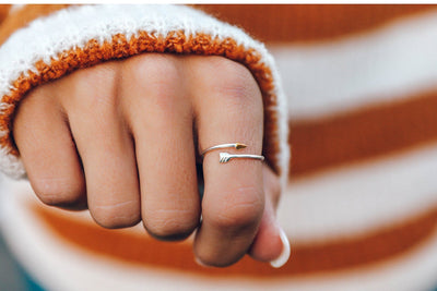 Arrow Ring by Pura Vida