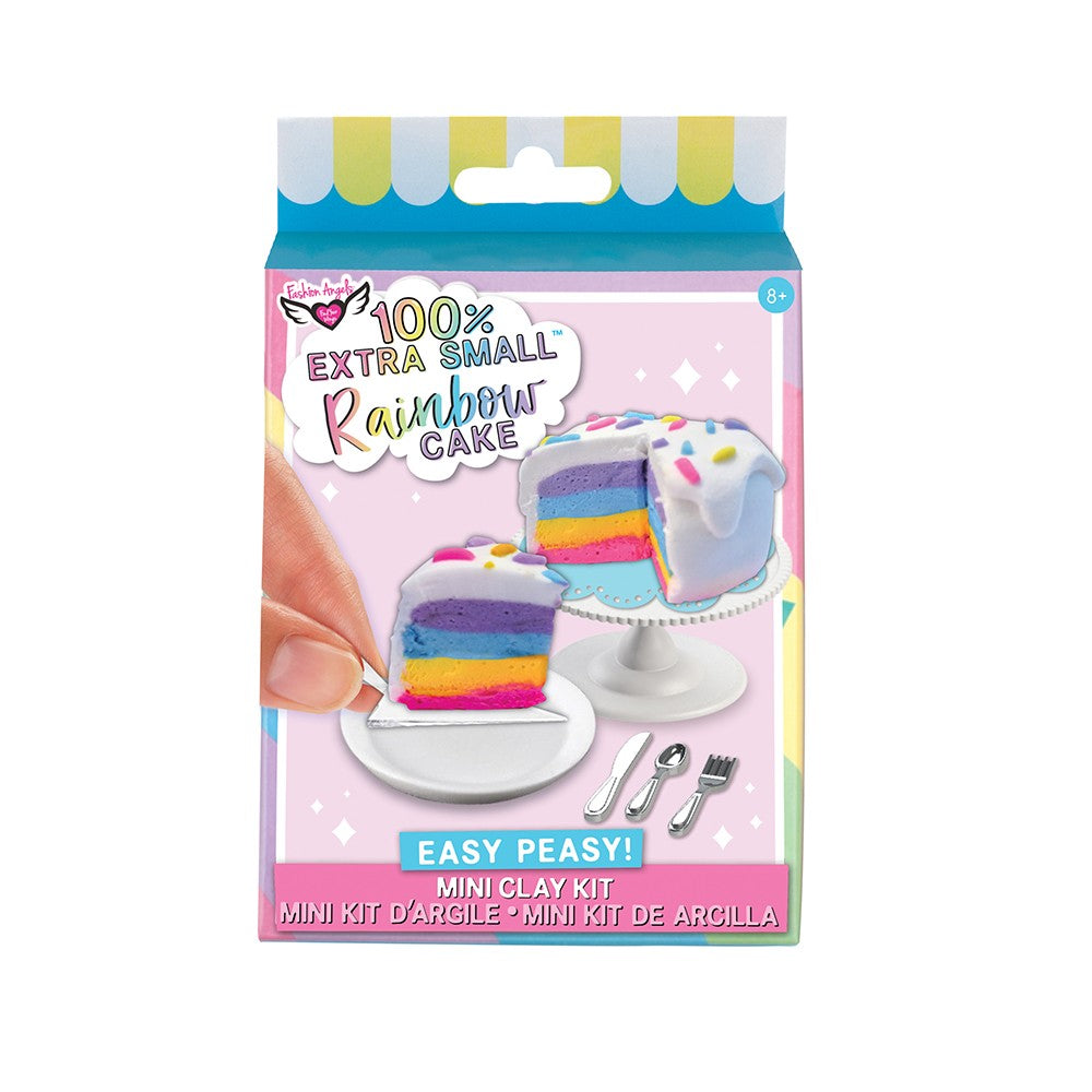 Extra Small Mini Clay Kit - Rainbow Cake