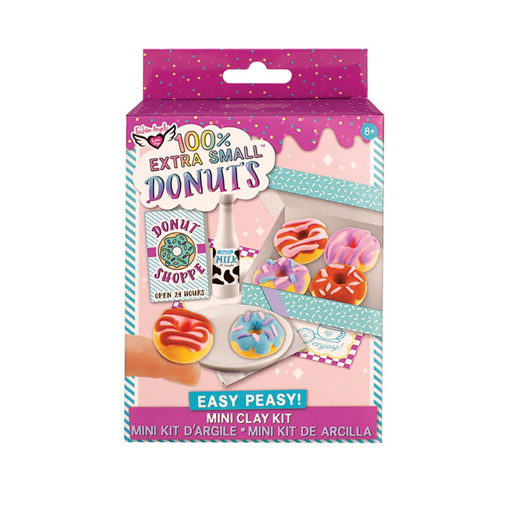 Extra Small Mini Clay Kit - Donuts