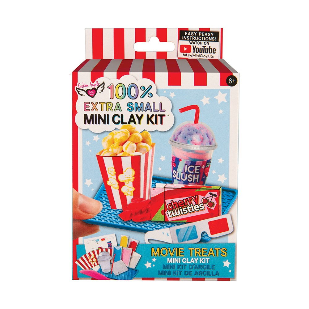 Extra Small Mini Clay Kit - Movie Treats