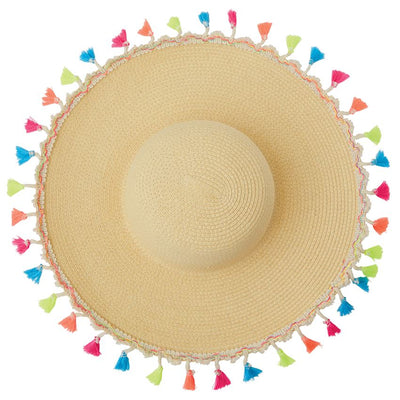(Toddler) Tassel Sun Hat