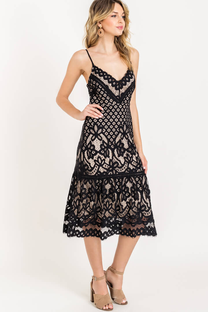 Midnights In Paris Dress
