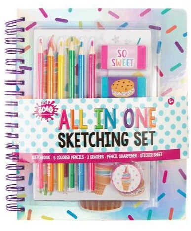 All In One Sketching Set: SWEETS