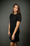 Southern Comfort T Shirt Dress In Black