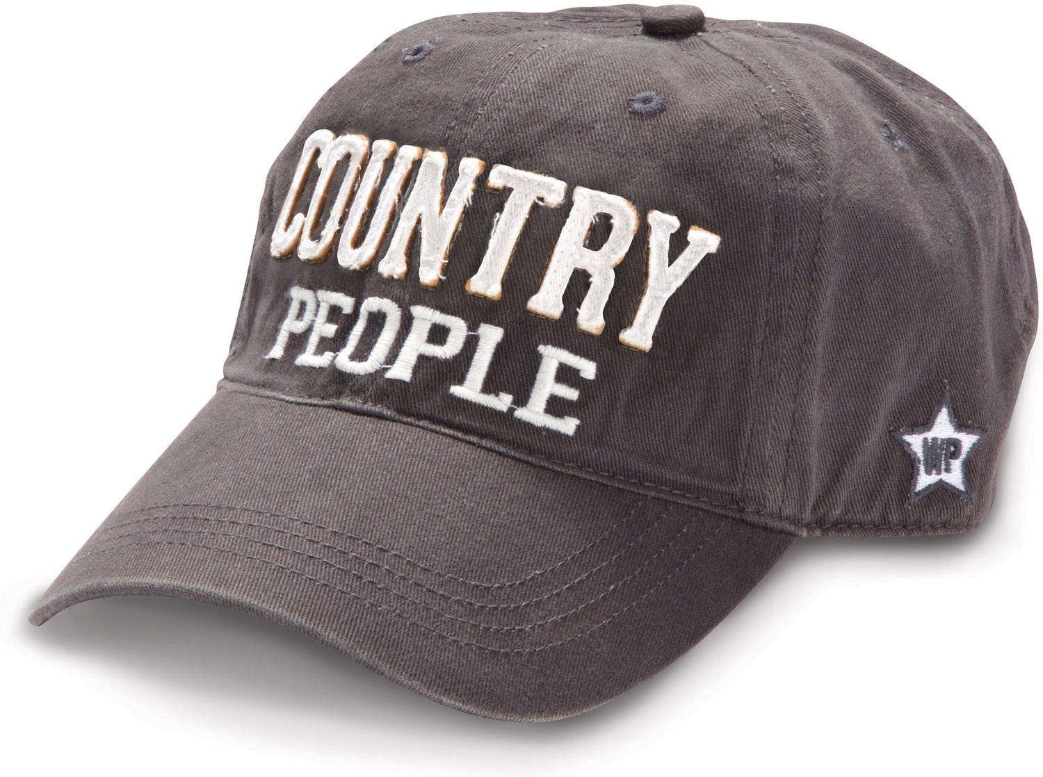Country People Dark Grey Cap