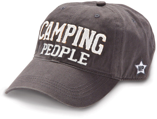 Camping People Dark Grey Cap