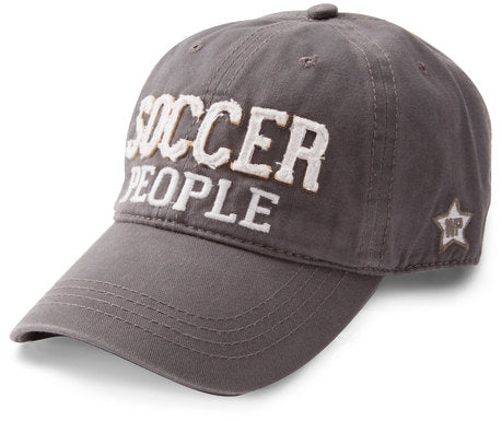 Soccer People Dark Grey Cap