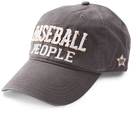 Baseball People Dark Grey Cap