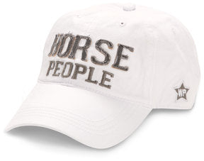 Horse People White Cap