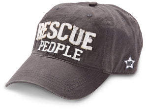Rescue People Dark Grey Cap