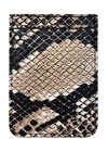Python Leather Phone Pocket