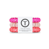 Pink Punch Large Hair Ties by Teleties