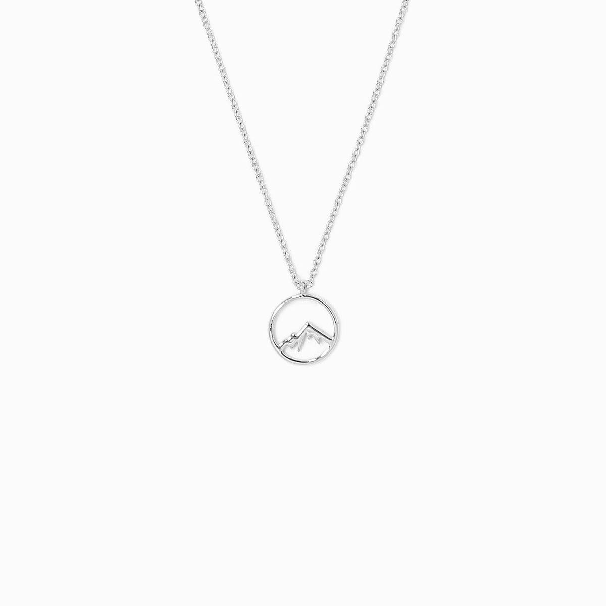 Silver Sierra Necklace by Pura Vida