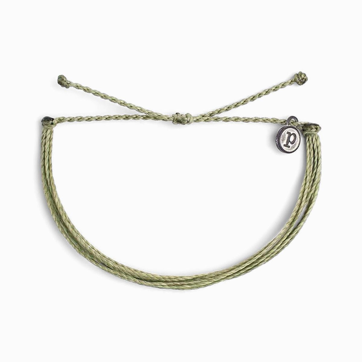 Solid Sage Green Original Bracelet by Pura Vida