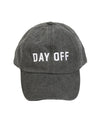 Day Off Cap