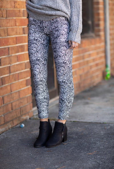 The Softest Leggings In Snakeskin