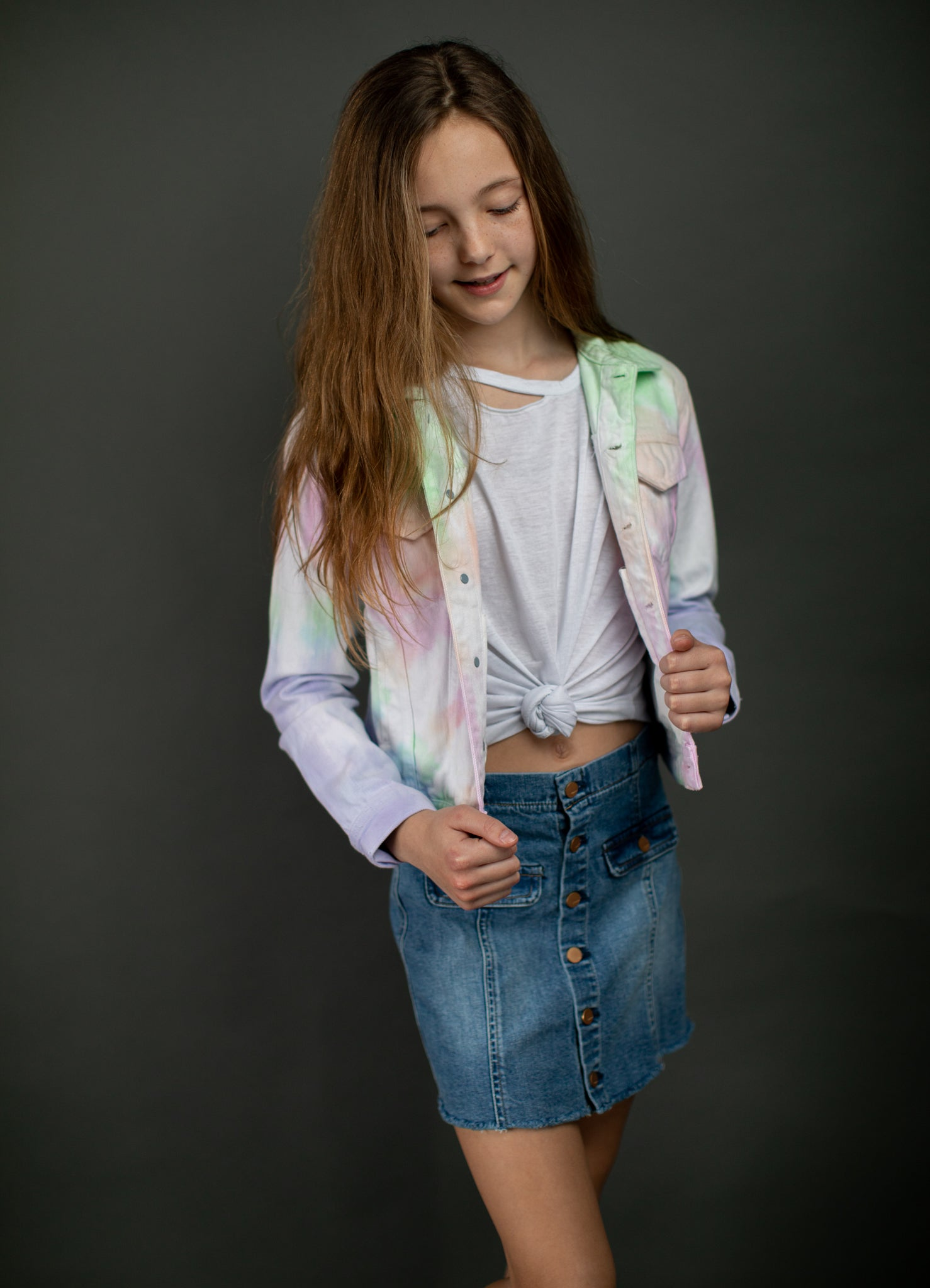 Rainbow Sherbert Jacket