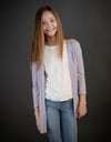 Everywhere Cardi In Lilac