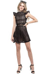 Midnight In Paris Party Dress