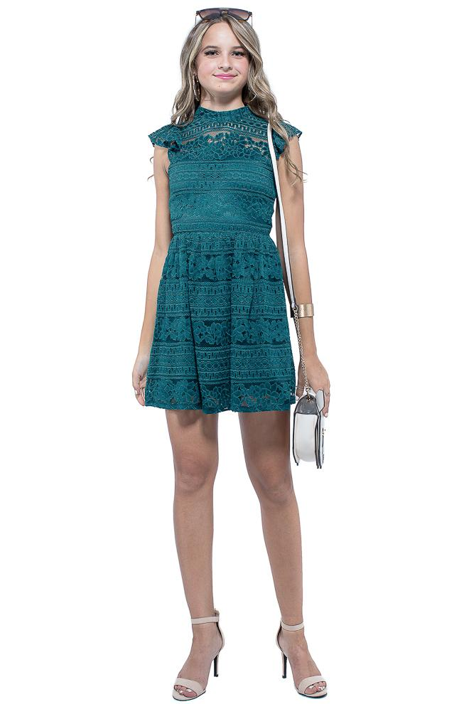 Emerald City Party Dress