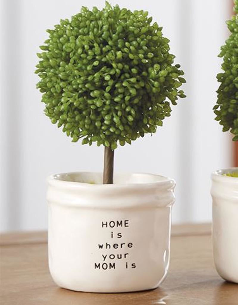 Mini Topiary Home Is Where Your Mom Is Collage Boutique