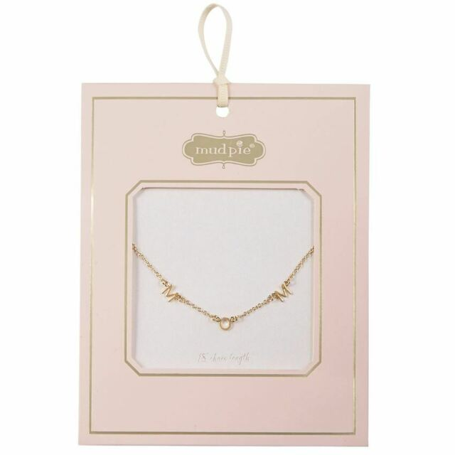 "Gold ""Mom' Necklace"