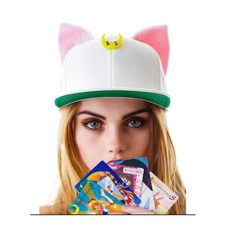 SAILOR MOON CAT CAP