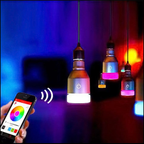 SMART LED BULB (PHONE-CONTROLLED, PROGRAMMABLE LIGHTS, BLUETOOTH) - TECHNOCATZ