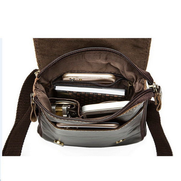 LEATHER WAIST PRACTICAL FESTIVAL BAG - TECHNOCATZ
