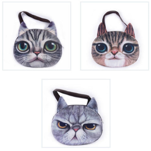 3D CAT FANTASY HANDBAG - TECHNOCATZ
