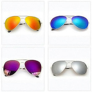 AVIATOR MIRROR SUNGLASSES - TECHNOCATZ