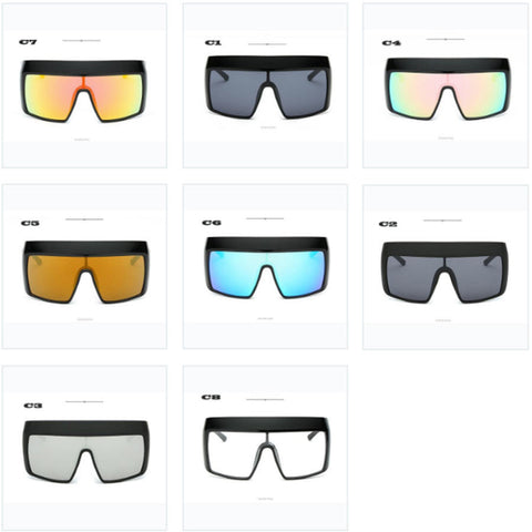 FASHION VISOR SUNGLASSES