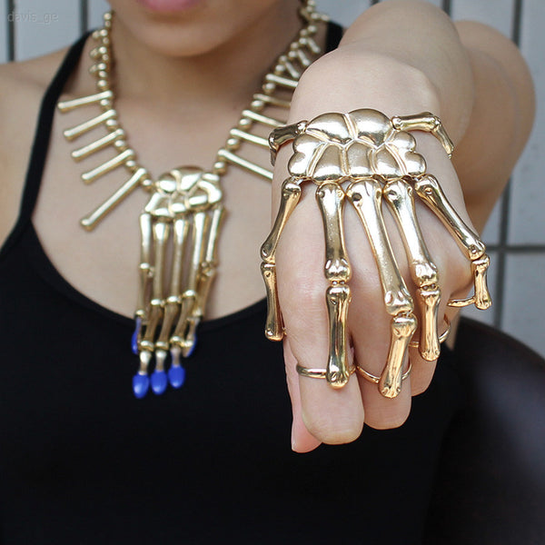 SKELETON HANDS STYLED JEWELRY - TECHNOCATZ