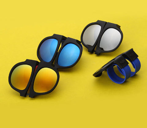 FOLDABLE POLARIZED SUNGLASSES - TECHNOCATZ