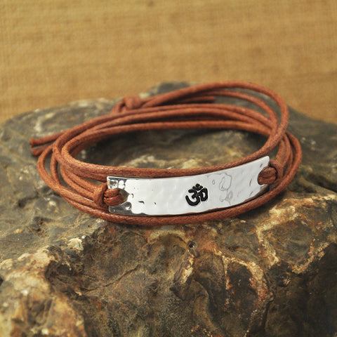 OHM BUDDHIST & YOGA BRACELET - TECHNOCATZ