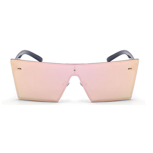 FASHION RIMLESS VISOR GLASSES - TECHNOCATZ