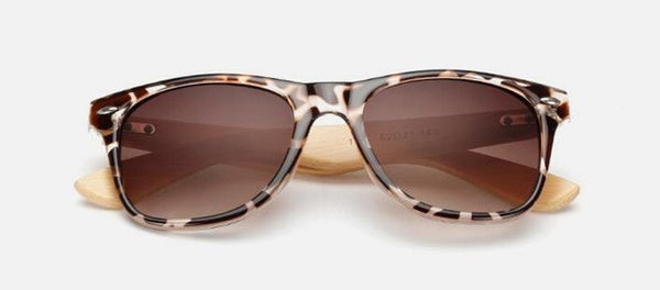 BAMBOO DESIGN SUNGLASSES - TECHNOCATZ