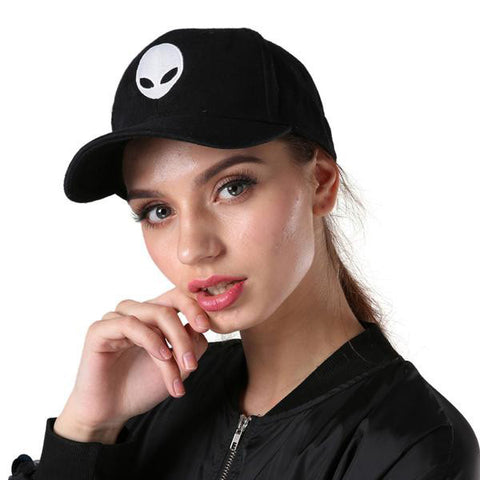 ALIEN UFO X-FILES CAP - TECHNOCATZ
