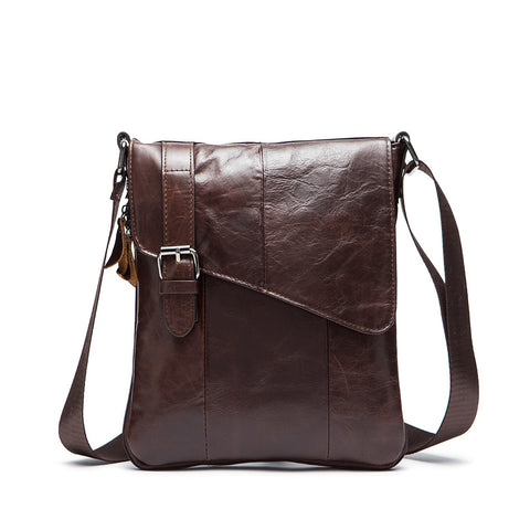 LEATHER CROSSBODY PRACTICAL FESTIVAL BAG - TECHNOCATZ