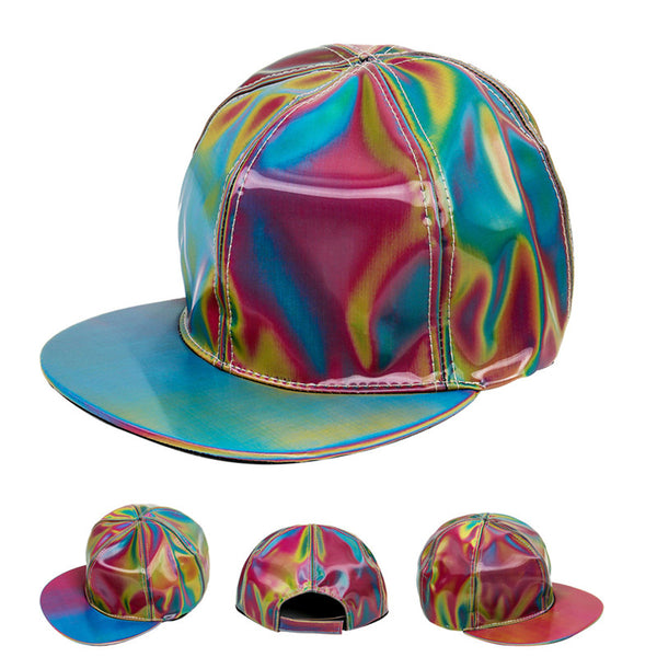 MARTY MCFLY BACK TO THE FUTURE RAINBOW COLOR CHANGING HAT / CAP - TECHNOCATZ