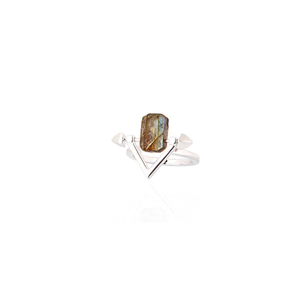 Be You, Gemstone ONLY for Ring - Labradorite