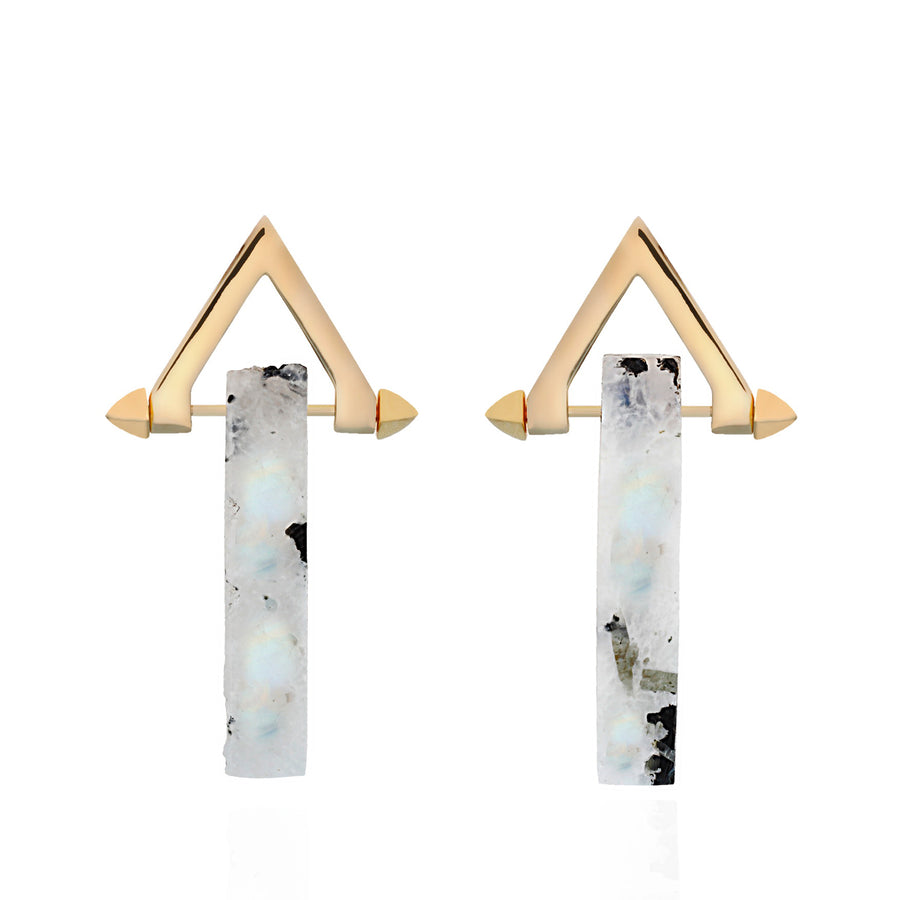 Be You, Long Gemstones for Earrings - Moonstone