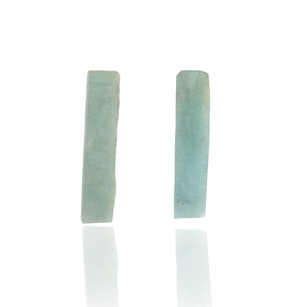 Be You, Long Gemstones for Earrings - Aquamarine