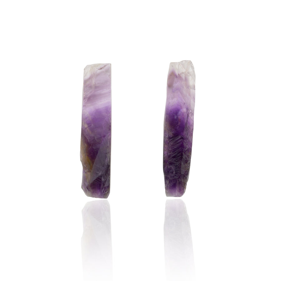 Be You, Long Gemstones for Earrings - Amethyst