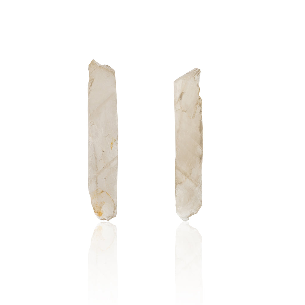 Be You, Long Gemstones for Earrings - Smokey Quartz