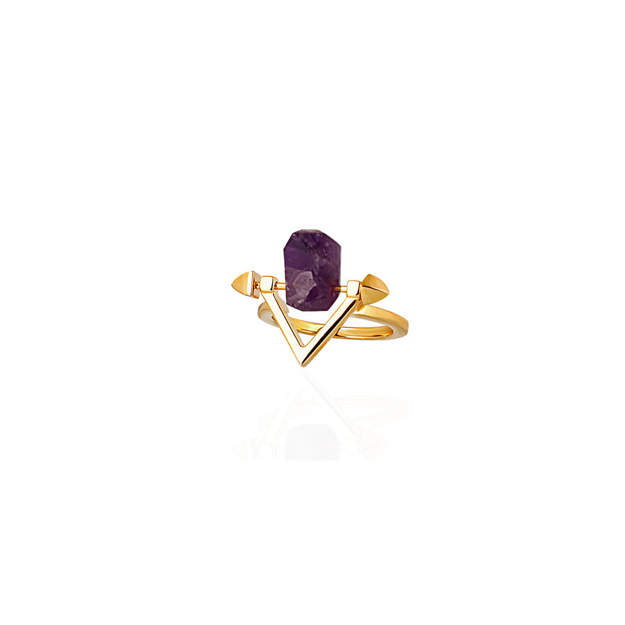 Be You, Gemstone ONLY for Ring - Amethyst