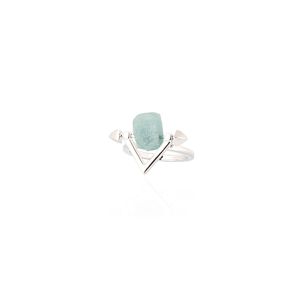 Be You, Silver Ring (BUY GEMSTONES SEPARATELY)