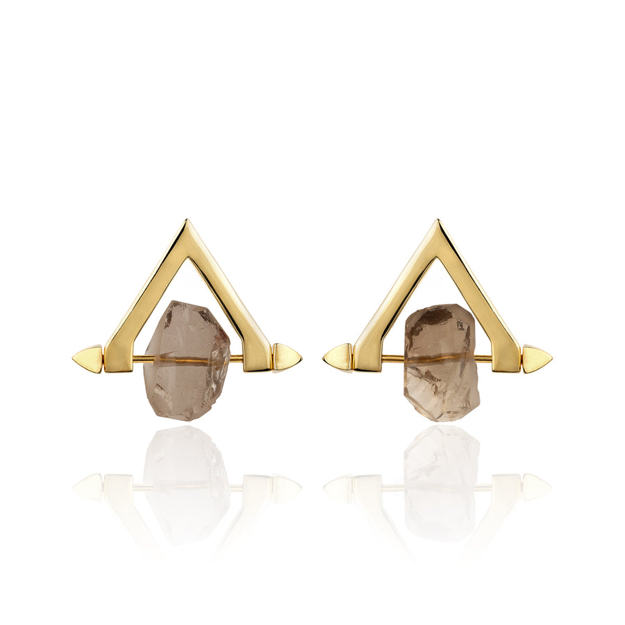 Be You, Short Gemstones for Earrings - Smokey Quartz